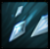 Icicle storm icon