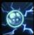 Lightning sphere icon
