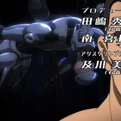 Cain pre-cybernetics seen in the opening credits
