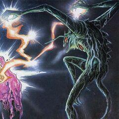 Zennon's lightning powers