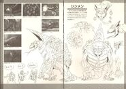 The Devilman Artbook 88-89
