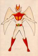 Devilman Early Design 1