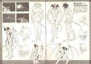 The Devilman Artbook 82-83