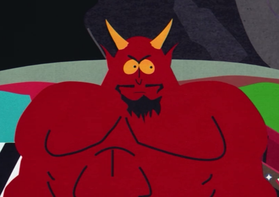 Image result for satan south park