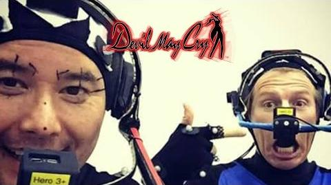 Are Johnny Yong Bosch and Reuben Langdon doing Mocap for DMC5!?