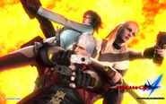 Devil May Cry 4 (PACHISLOT) Official wallpaper from Enterrise site7
