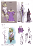 Devil May Cry 4 Devil's Material Collection Sanctus concept art 5
