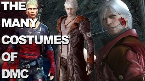 The Many Costumes of DMC Devil May Cry