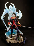 Resin figure DMC4 Nero 2