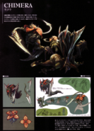 Devil May Cry 4 Devil's Material Collection Chimera concept art
