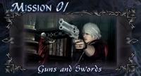 DMC4 SE cutscene - Guns and Swords