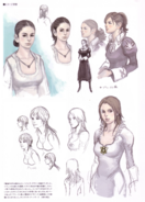 Devil May Cry 4 Devil's Material Collection Kyrie concept art 5