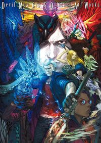 Devil May Cry 5 Official Art Works - Cover