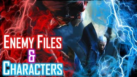 Enemy Files and Characters - Devil May Cry 3 Special Edition (HD) - PS3 PS4