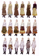 Devil May Cry 4 Devil's Material Collection Kyrie concept art 8