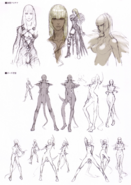 Devil May Cry 4 Devil's Material Collection Gloria concept art 2