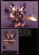Devil May Cry 4 Devil's Material Collection Berial concept art 2