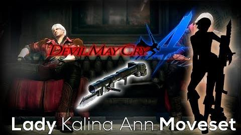 Devil May Cry 4 Special Edition Lady Kalina Ann Moveset
