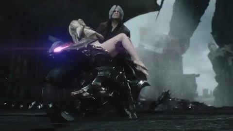Devil May Cry 5 Dante VS Cavaliere Angelo Boss Fight + New cutscene