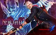 Devil May Cry 4 (PACHISLOT) Official wallpaper from Enterrise site1