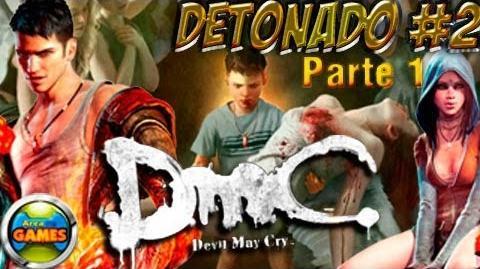 DMC Devil May Cry Detonado parte 2 1 (Duras Verdades) PC - BR