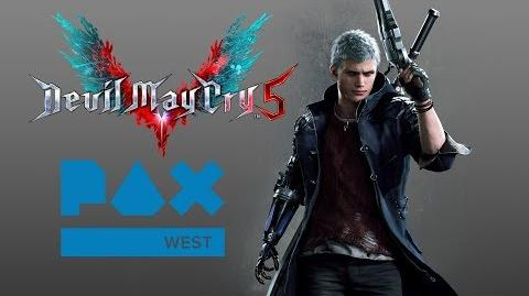 Devil May Cry 5 - PAX West 2018 Panel