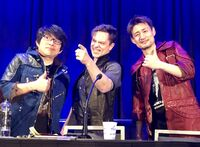 Itsuno, Matt and Okabe at GDC 2019