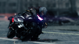 DMC5 Dante on Motorcycle