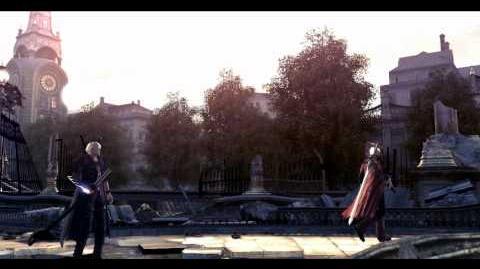 Devil May Cry 4 Cutscenes 88 Epilogue 01 La Vita Nuova HD 1080p