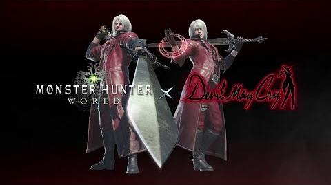 Monster Hunter World - Devil May Cry Collaboration