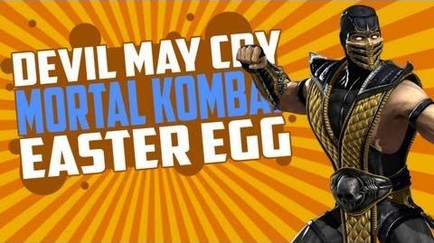 DmC Devil May Cry Secrets & Easter Eggs Mortal Kombat!