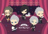Capcom Cafe X Devil May Cry 5 second collab keyart
