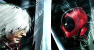 Dante VS Deadpool MVC3