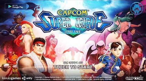 CAPCOM Super League Online CBT Gameplay (KR) Mobile RPG