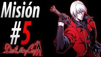 """Devil May Cry 1 HD Español Misión 5 """"Guía del Alma"""""""