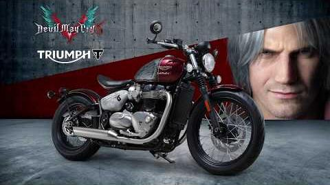 Devil May Cry 5 X トライアンフ スペシャルコラボバイク紹介映像