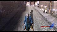 DMC4 SE cutscene - The Arrival (Nevan poster)