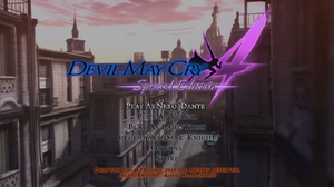 DMC4SE Play Using the Original Game Settings Menu