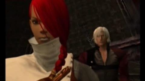 FRANCOISE DUBBING LUCIA IN PS2 GAME DEVIL MAY CRY 2
