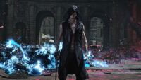 DMC5 V Defeats Elder Geryon Knight