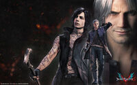 Devil May Cry 5 Wallpaper (Steam)