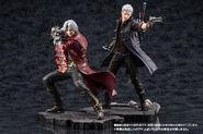 DMC5 ARTFX J Dante & Nero figures PVs (1)