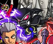 Viewtiful Joe RHR Alastor Artwork Detail