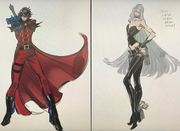 Unused DMC Costumes - Bayo2 Concept Art