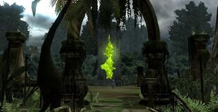 Hell Gate in Mitis Forest