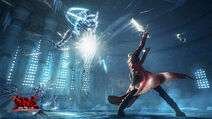Devil May Cry Pinnacle of Combat - Game screen under development (2)