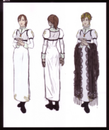 Devil May Cry 4 Devil's Material Collection Kyrie concept art 2