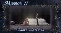 DMC4 SE cutscene - Dante and Trish