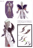 Devil May Cry 4 Devil's Material Collection Gloria concept art 1