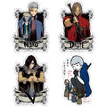 CAPCOM X B-SIDE LABEL DMC5 stickers